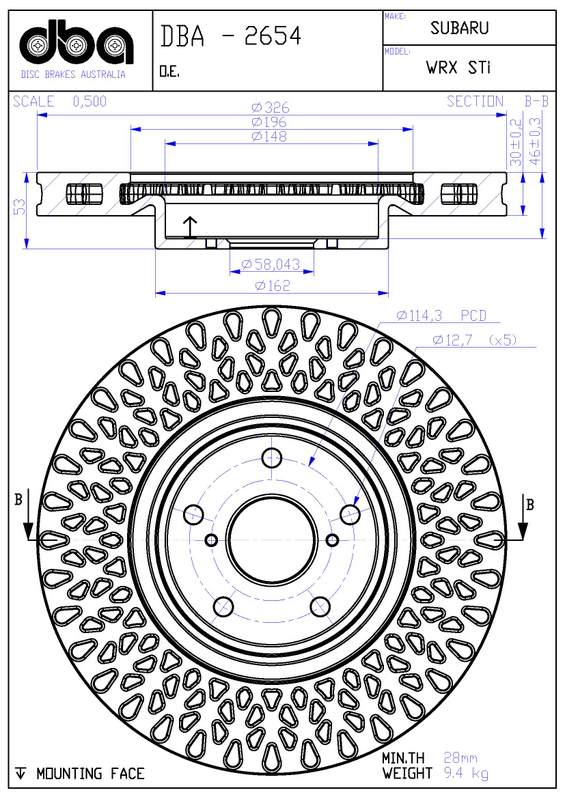 Compiled Brake Information NASIOC New 5x114 3 Bolt Pattern
